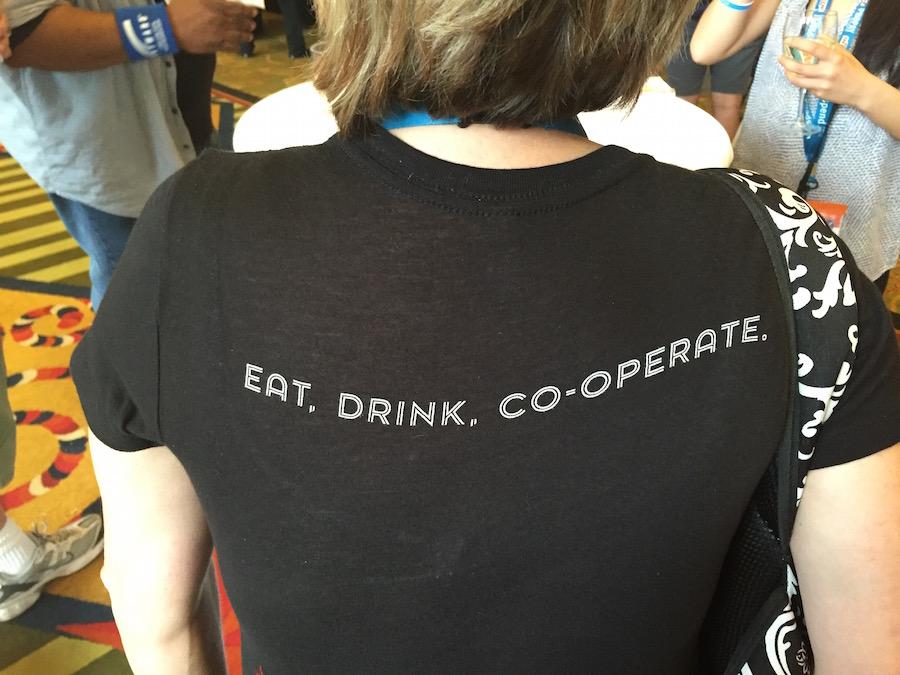 SXSW의 정신을 요약한 티셔츠 ⓒ정보라