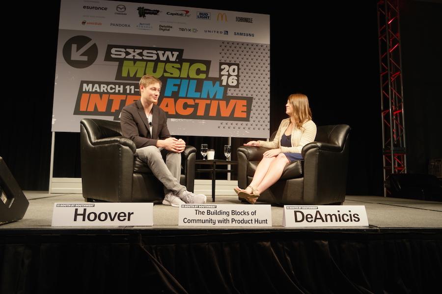 테크 커뮤니티 Product Hunt 창업자와의 대담 ⓒ정보라