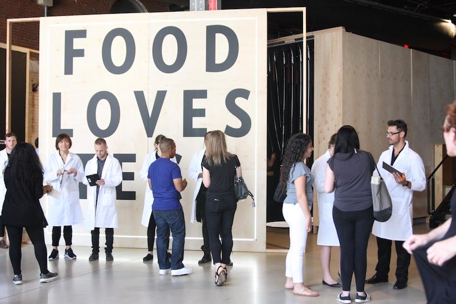 2016 Food Loves Tech 행사장 입구, ⓒ정수진