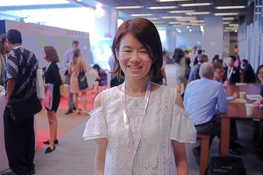 열정을 가진 동료들을 만나기 위해 올해도 AVPN 컨퍼런스에 참석한 사야카님 ©유승제